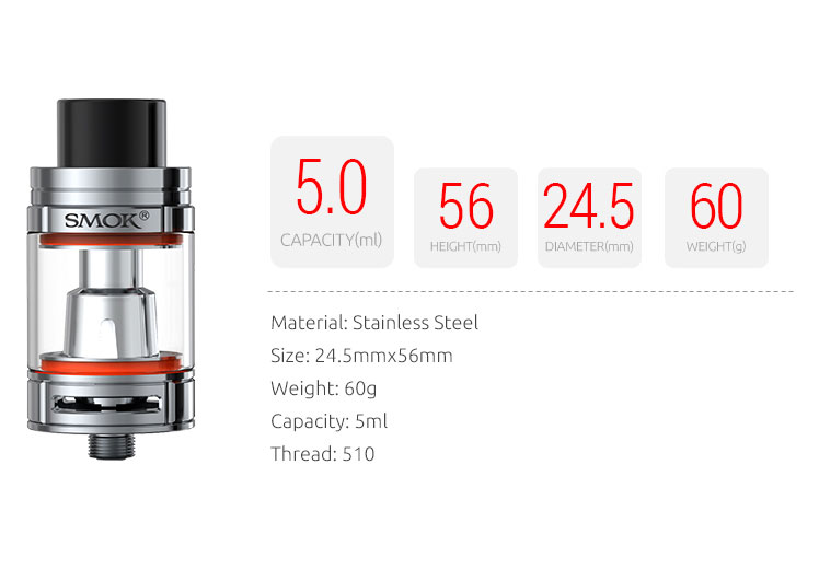 Tfv8 Big Baby Smok Innovation Keeps Changing The Vaping Experience