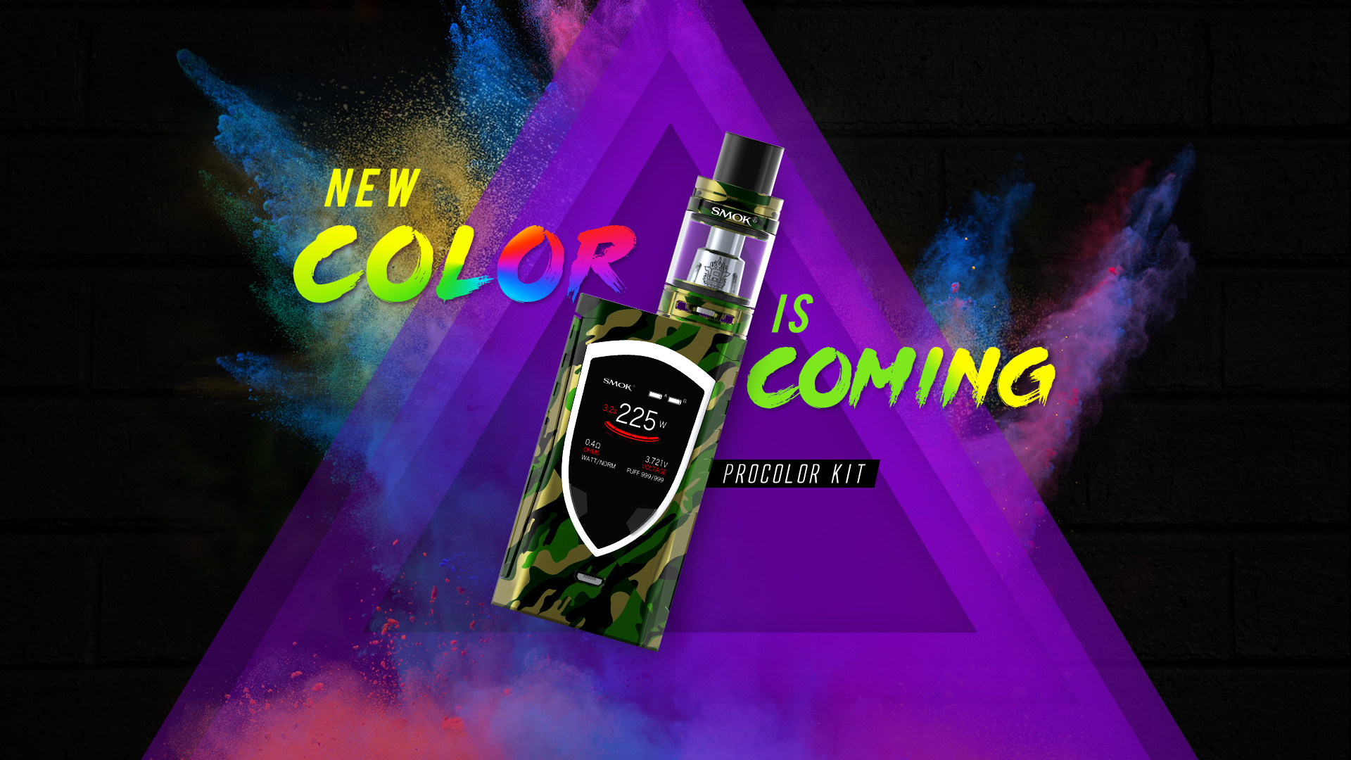 Happy Colors Smok® Innovation Keeps Changing The Vaping Experience