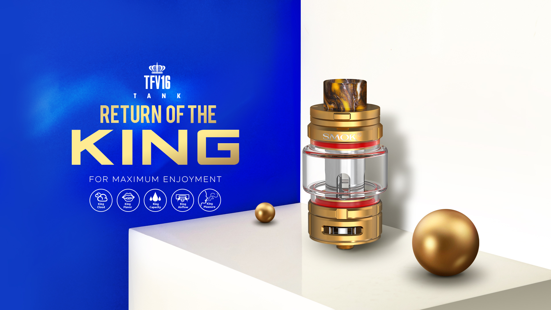 SMOK® Innovation keeps changing the vaping experience!