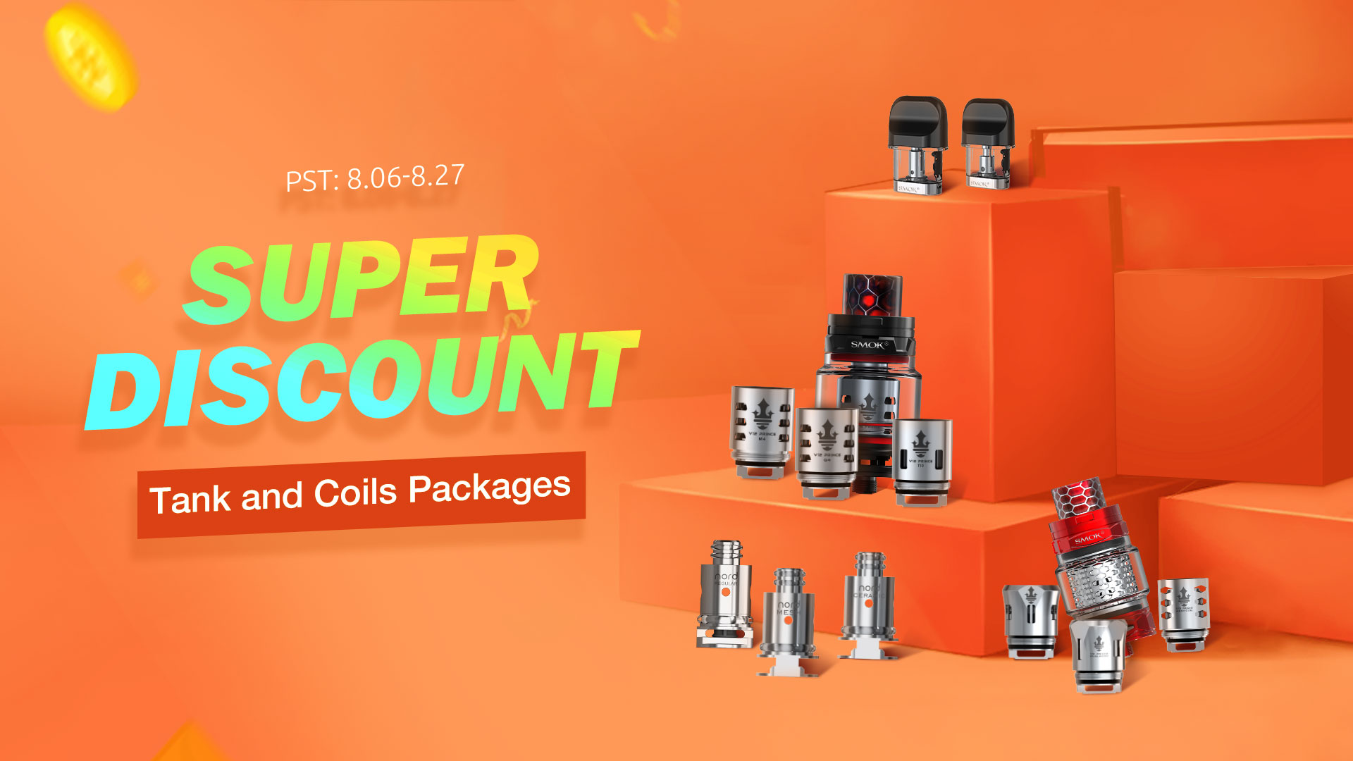 Tans and Coils Package