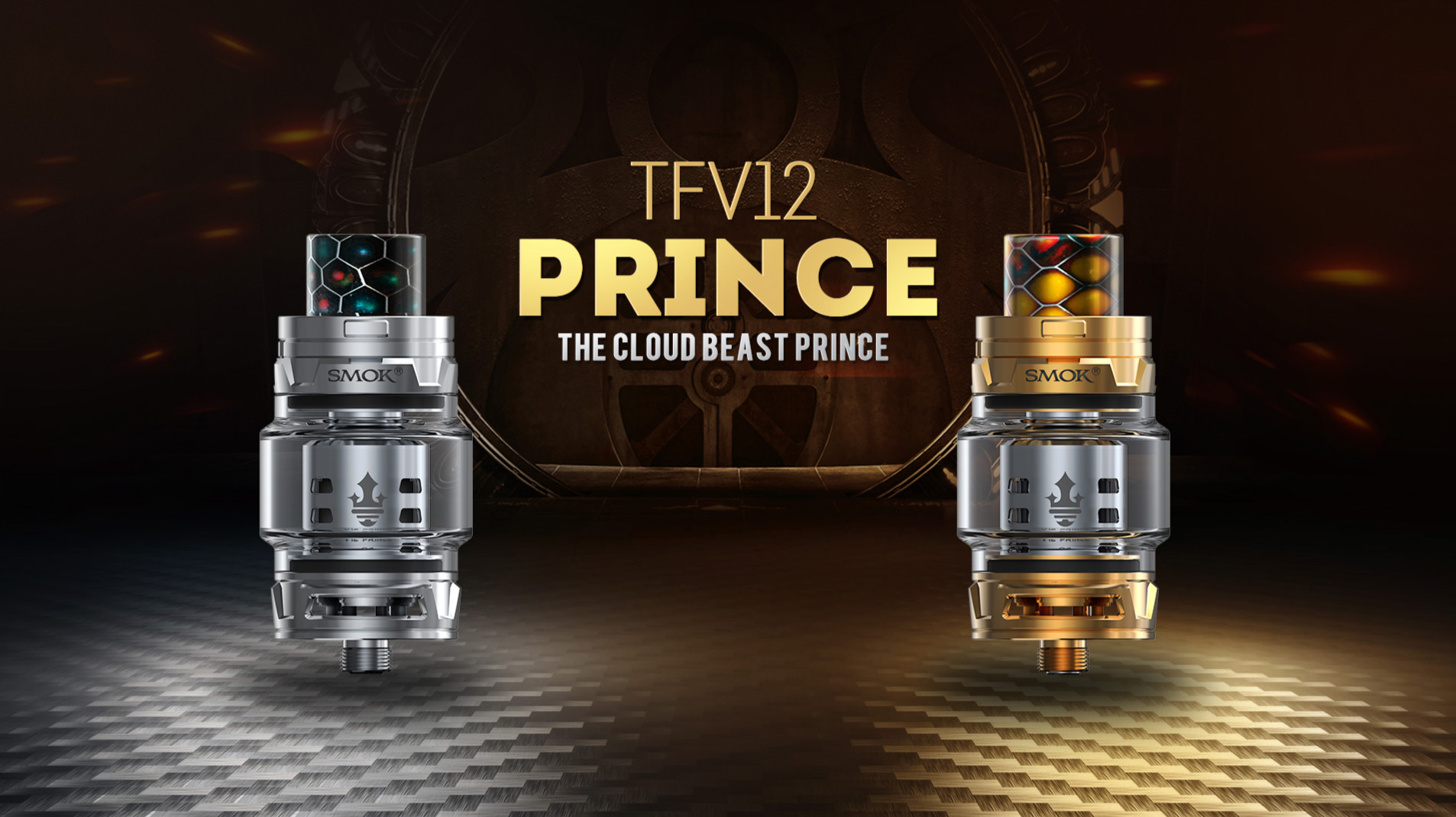 SMOK TFV12 Prince Coils T10  0.12ohm -3 Pack - Available from Mighty Vape
