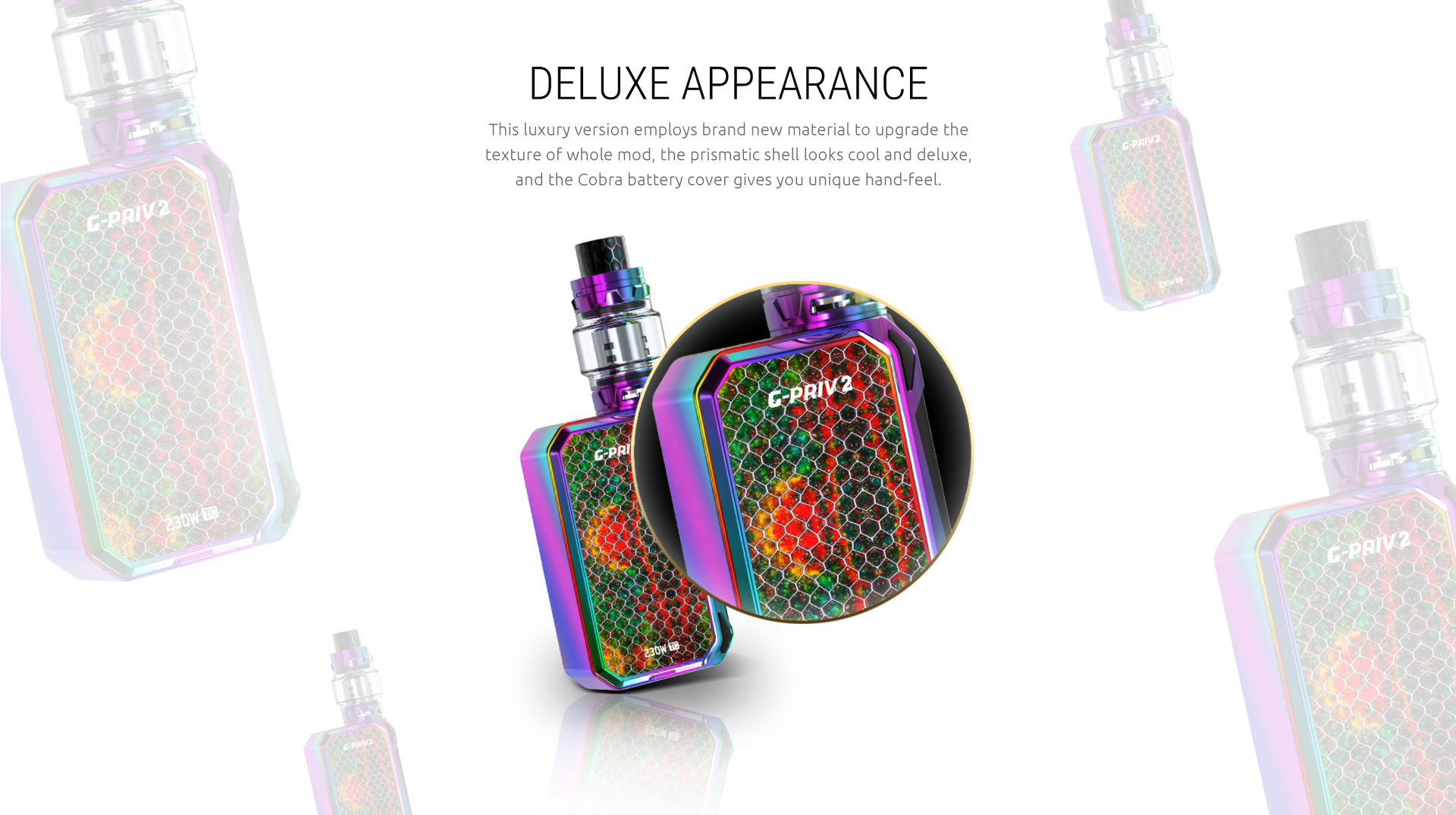 SMOK G-PRIV 2 230W Luxe Edition Kit | SMOK® Official