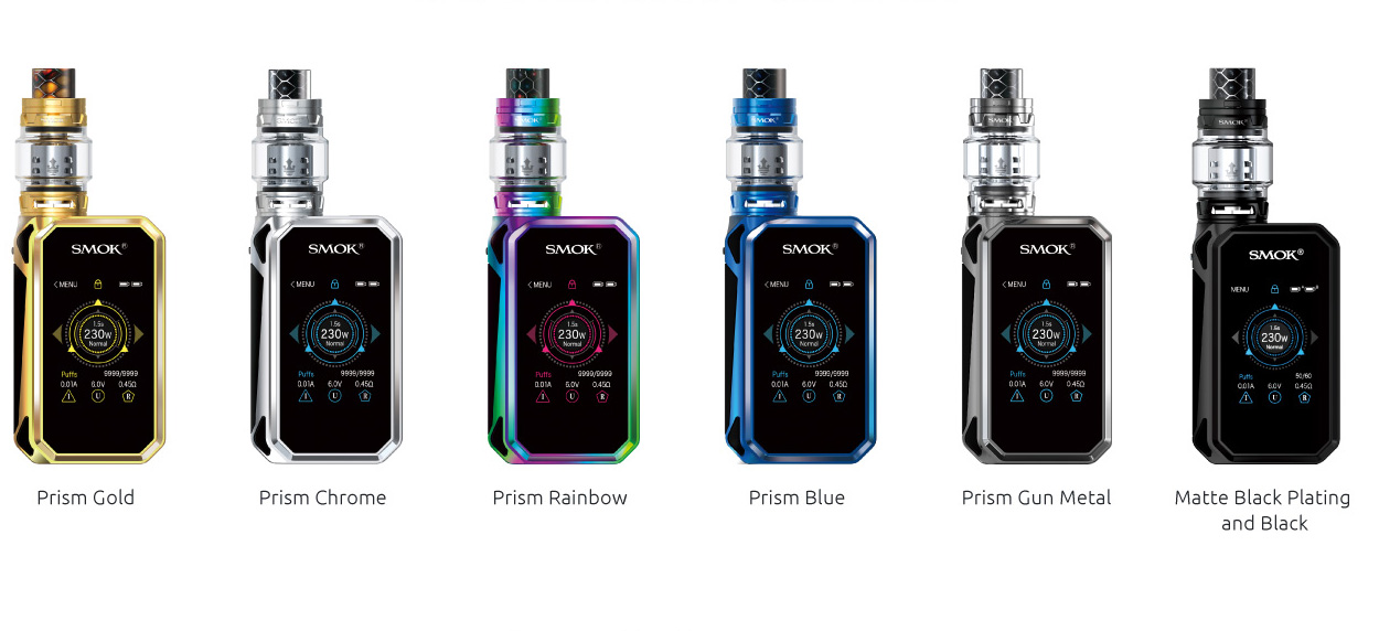 smok g priv 2 luxe edition prism gunmetal