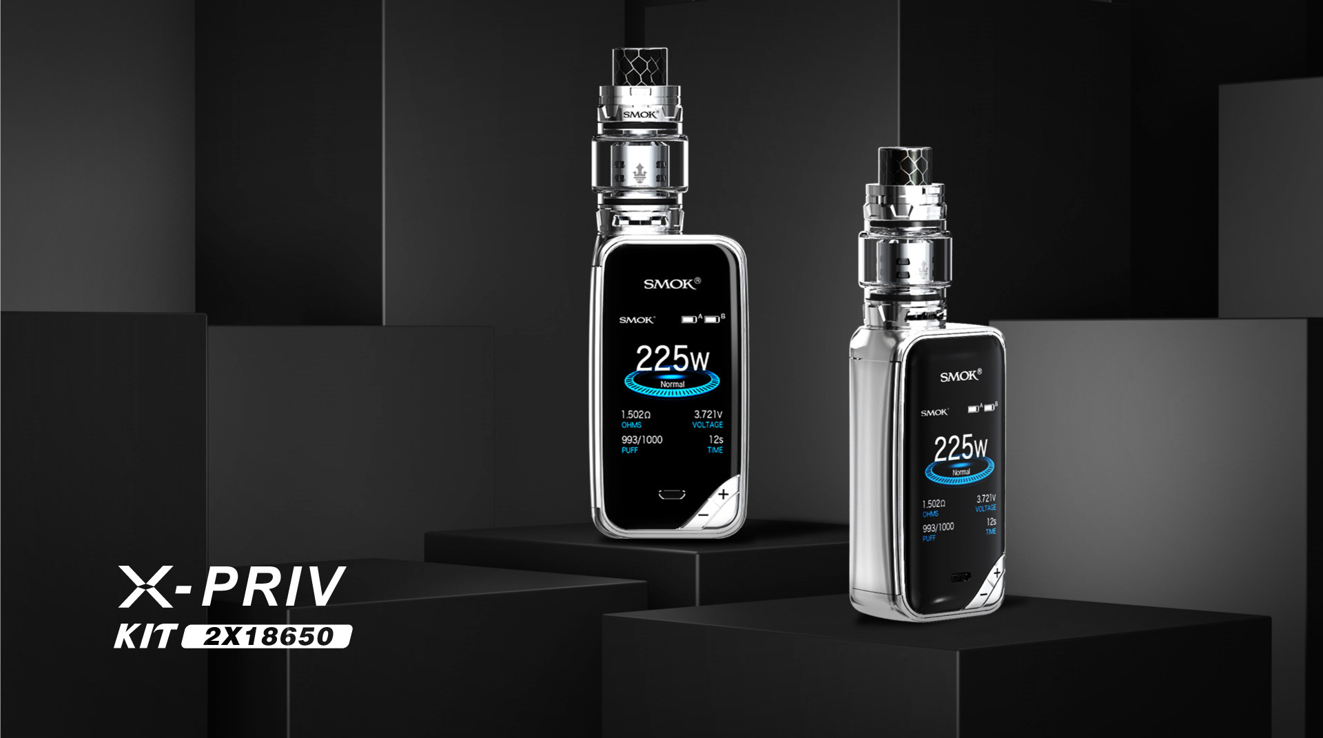 X-Priv Kit - SMOK® Innovation keeps changing the vaping experience!