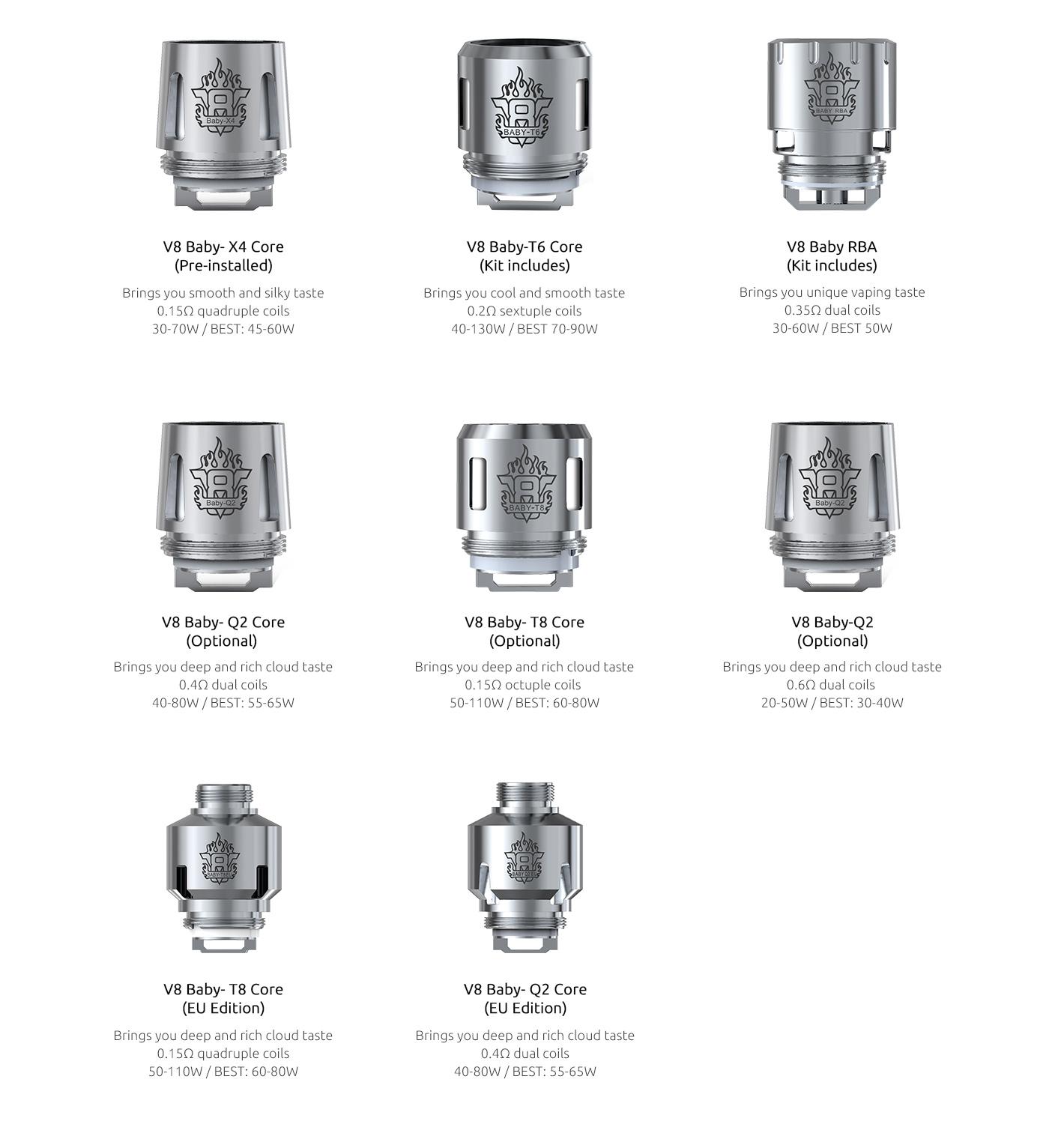 Smok Tfv8 Big Baby Tank Vape Tank Smok Official Site