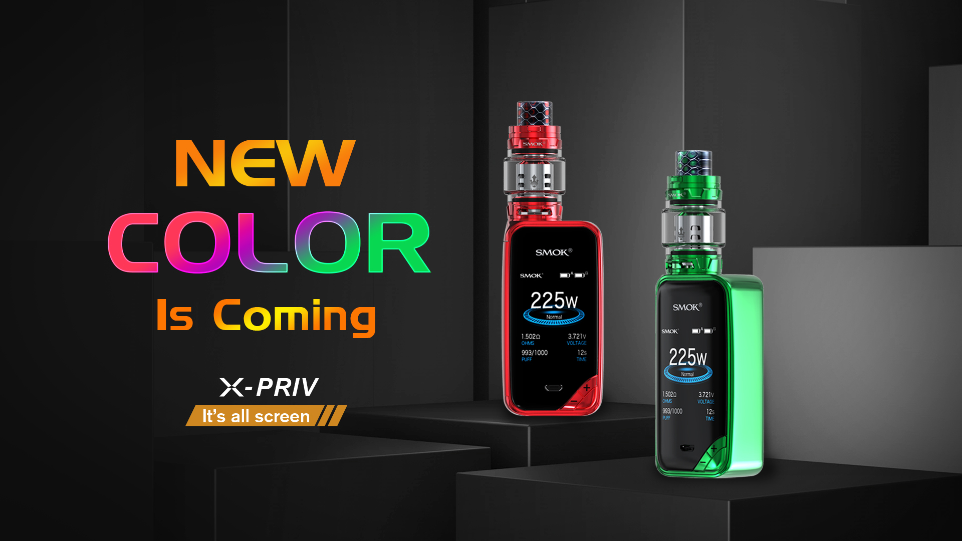 SMOK X-Priv 225W Kit - Vape Kits | SMOK® Official