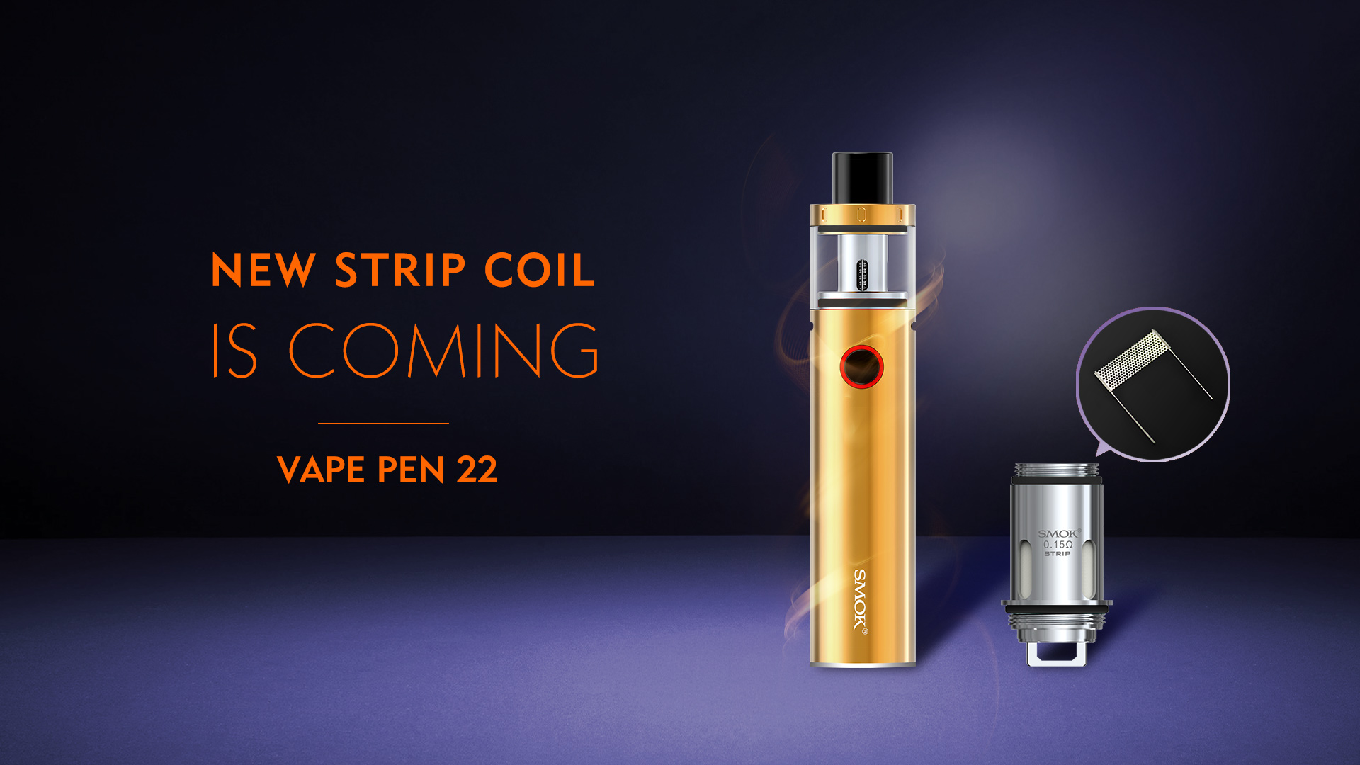 Vape Pen 22 - SMOK® Innovation keeps changing the vaping experience!