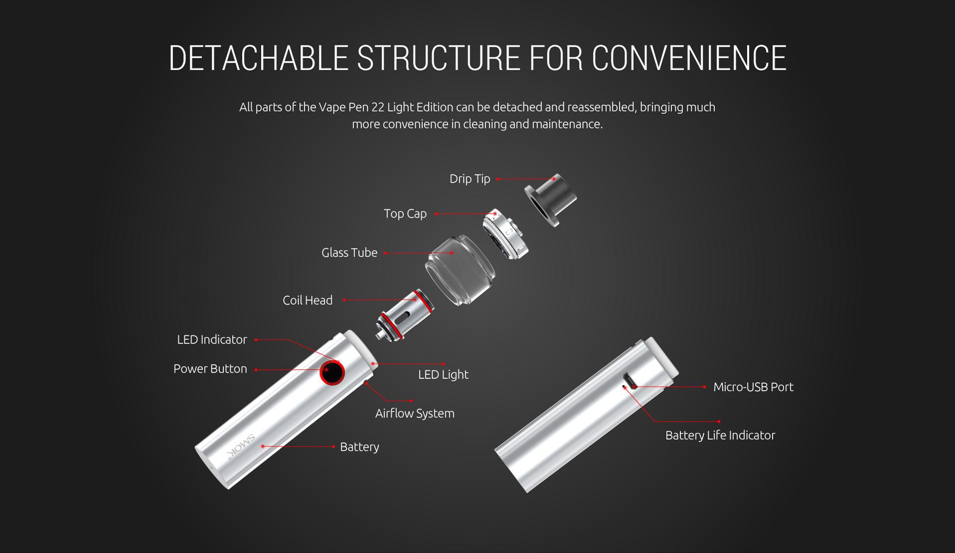 SMOK Vape Pen 22 Light Edition Kit | SMOK® Official