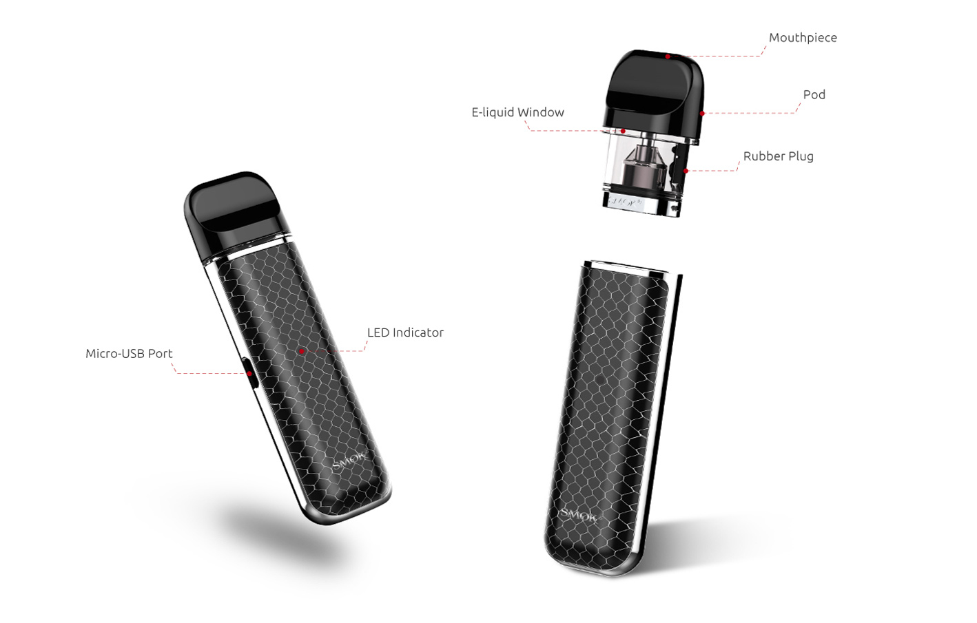SMOK NOVO 16W Pod Kit - Vape Kits | SMOK® Official