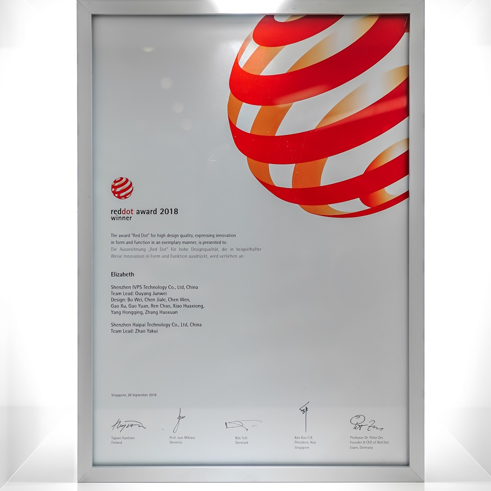 Red Dot Design Award Oscar Smok Official Site