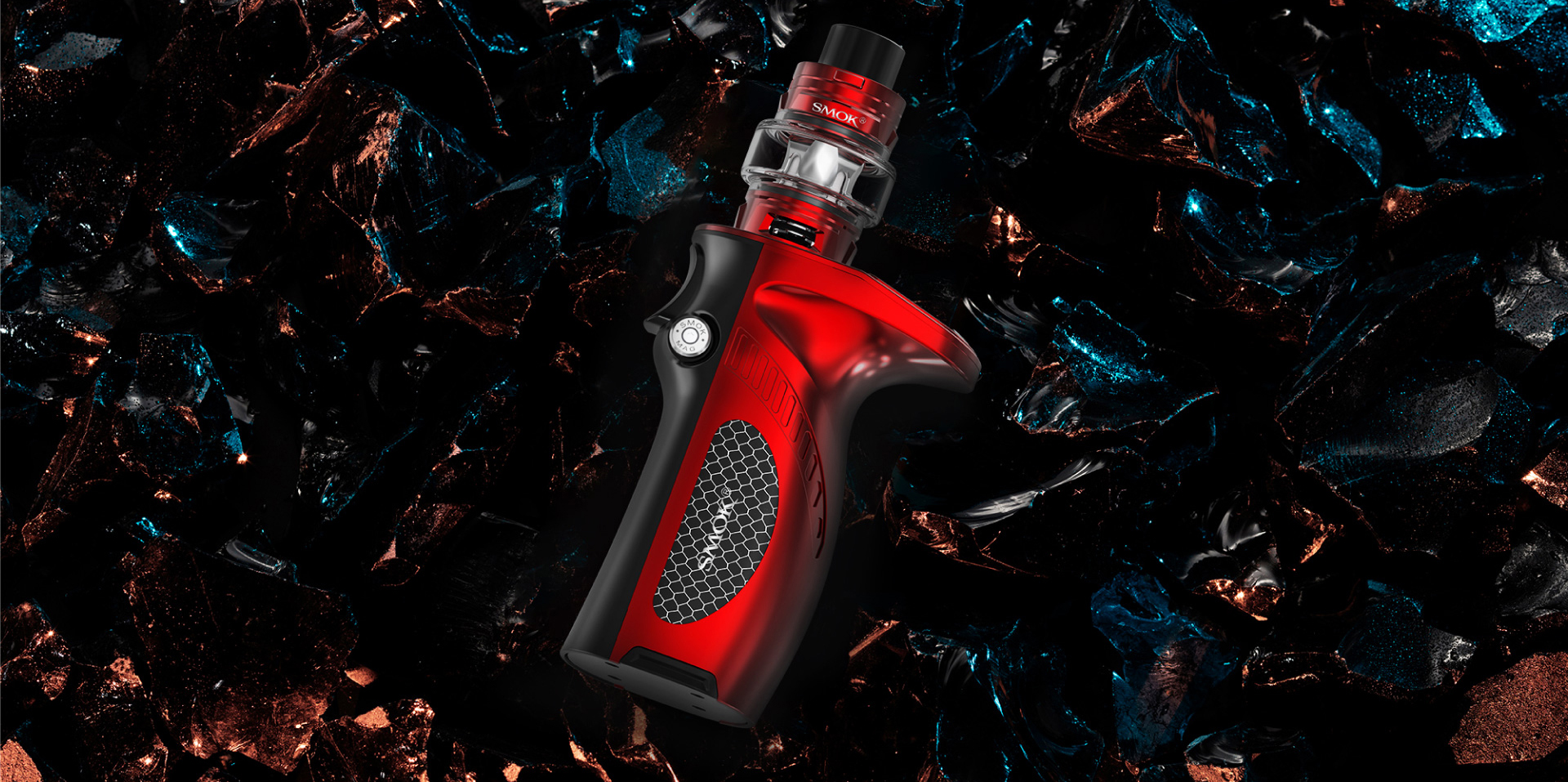 Red SMOK Mag Grip Kit&Mod