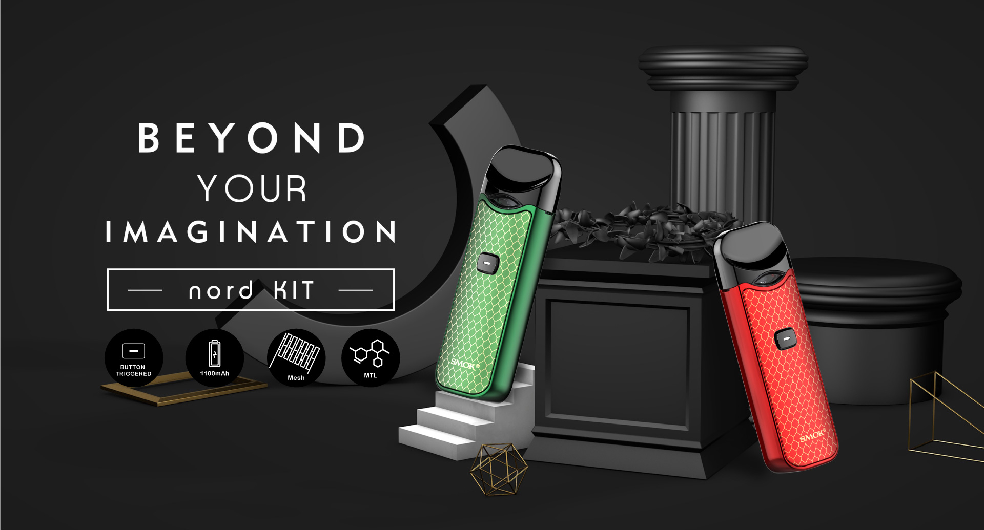 Nord Kit Smok 174 Innovation Keeps Changing The Vaping