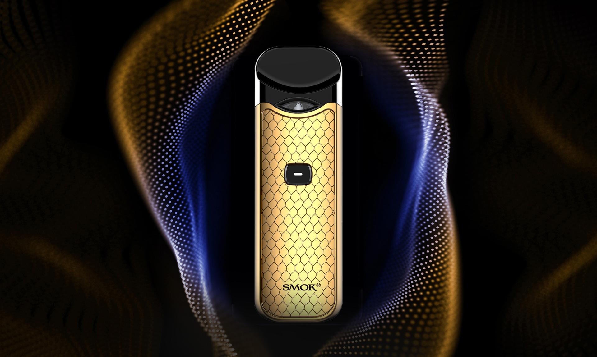 Golden Noble Finish of SMOK Nord Kit