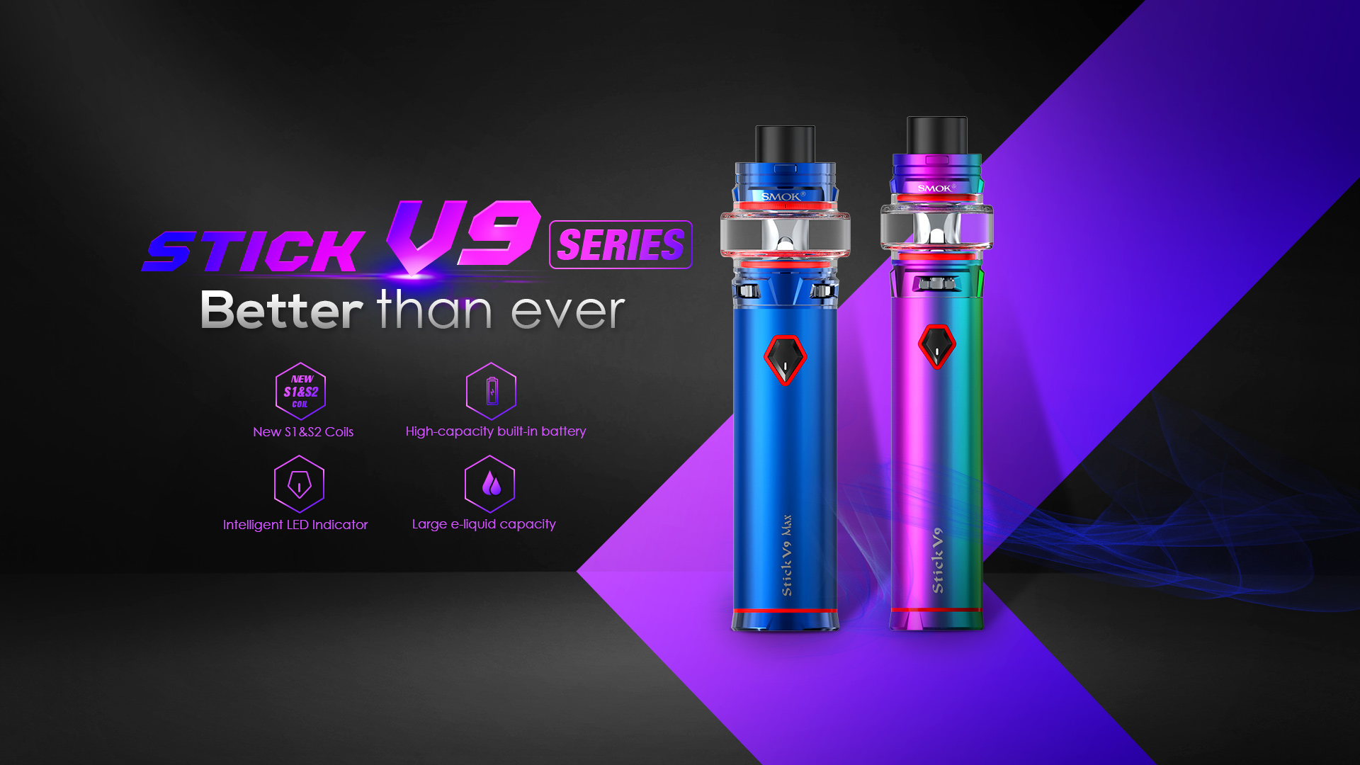 Stick V9 Stick V9 Max Vape Pen Smok Official Site