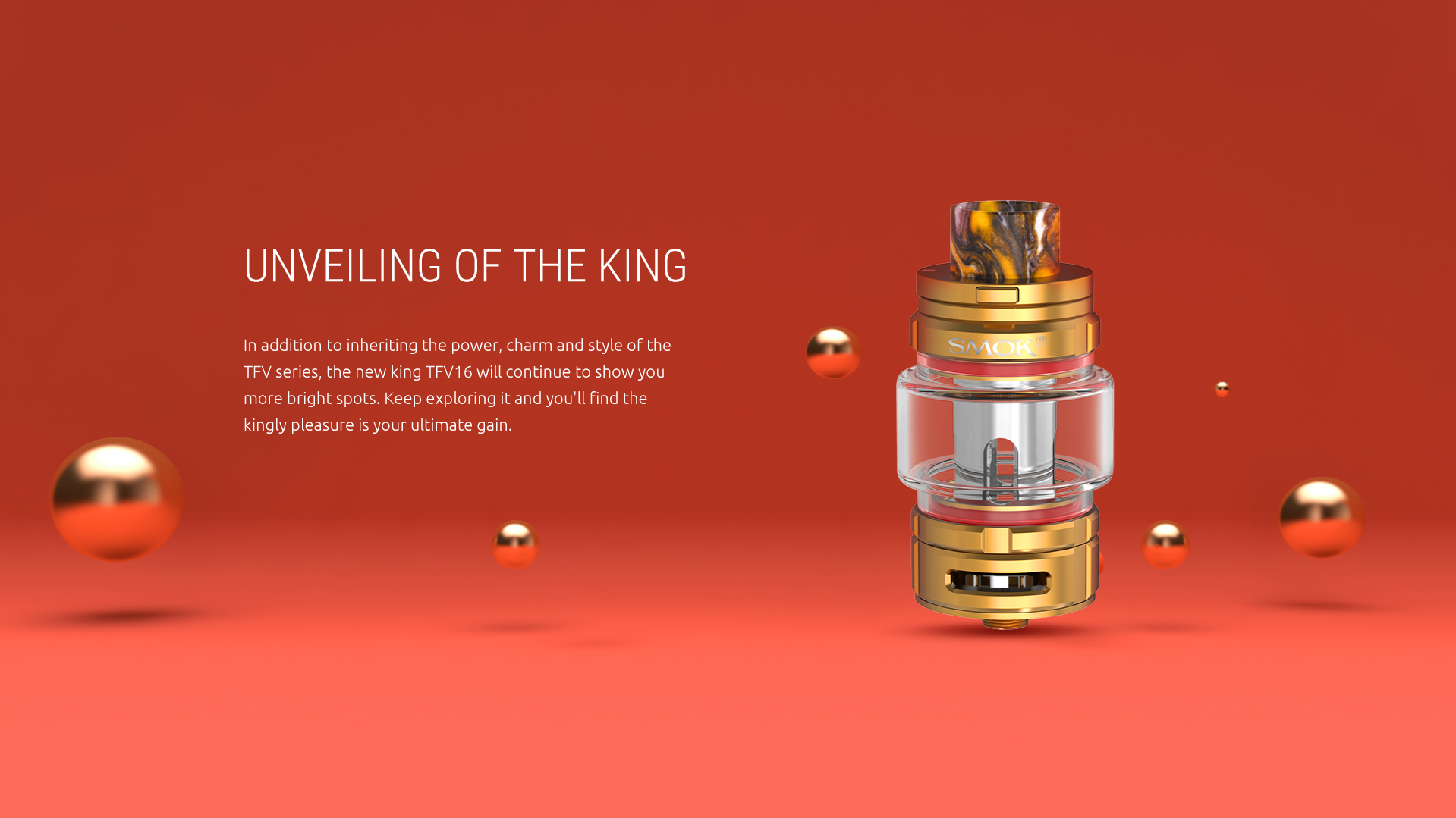 Unveiling of the King-SMOK TFV16 Tank