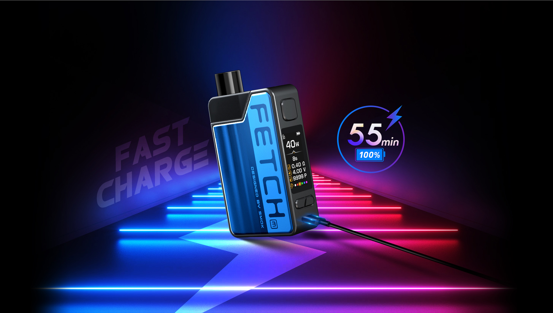Increased Charging Current for  SMOK Fetch Mini to Fast Charge