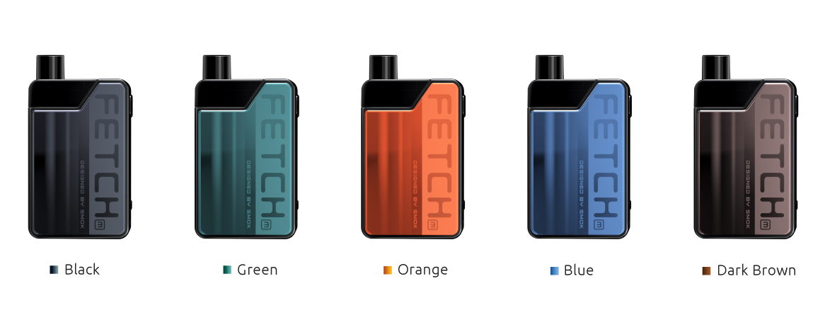 5 Colors Available for SMOK Fetch Mini