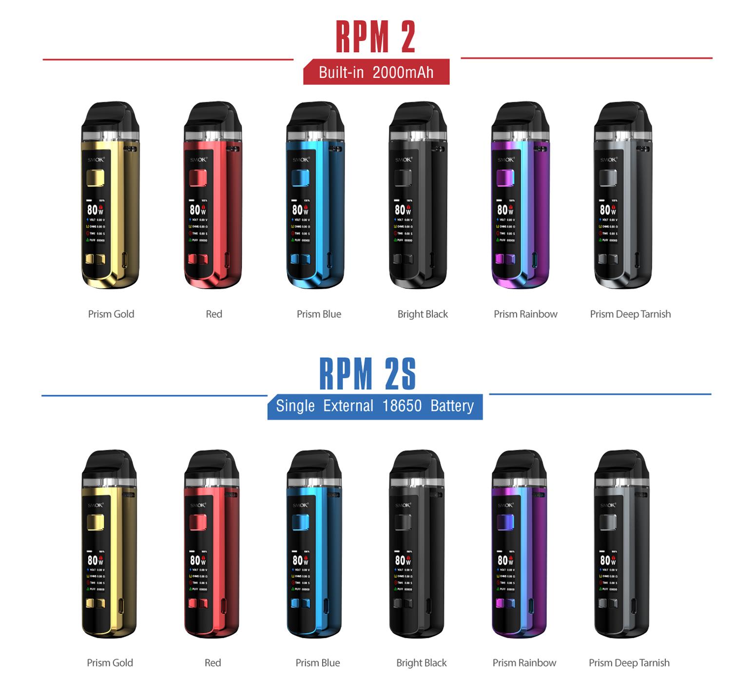 RPM 2S | Smok | 80W External Battery Mod