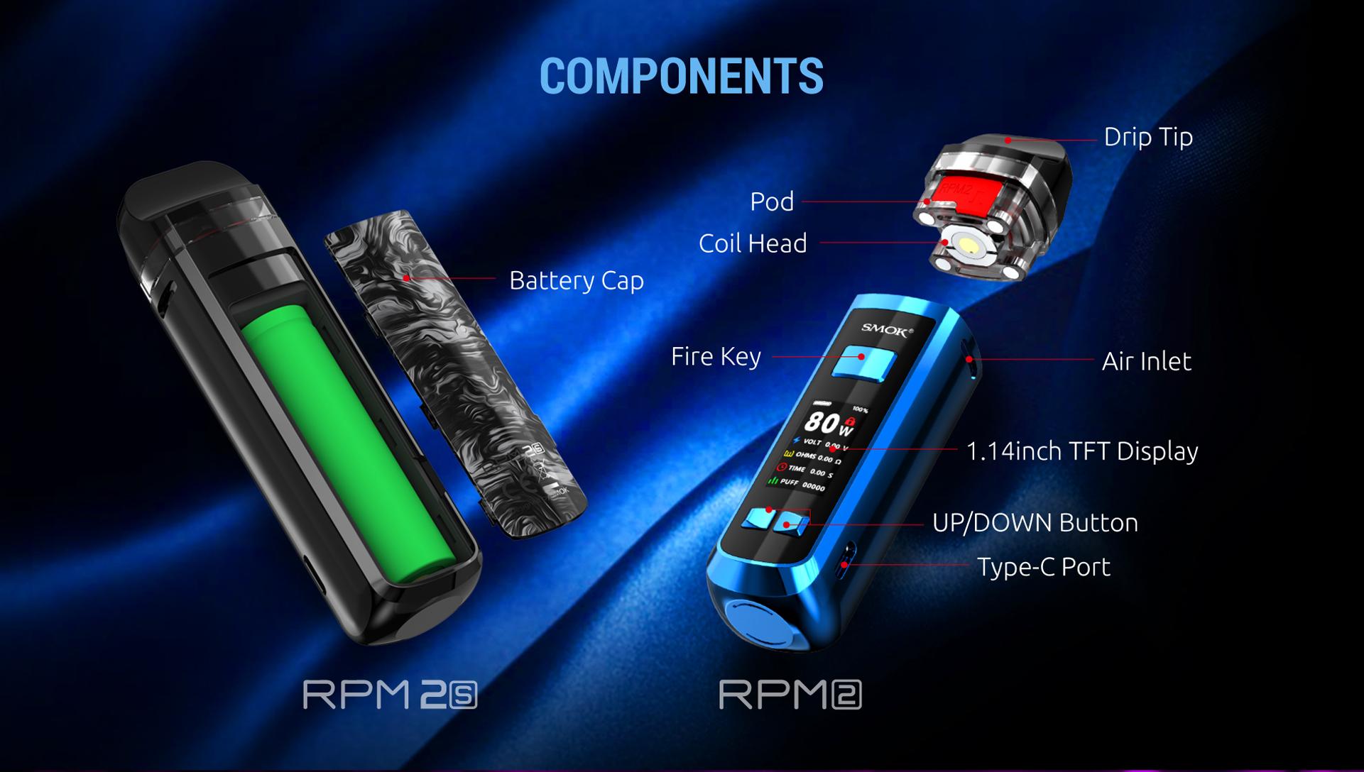 Smok RPM 2 Pod | 80W 2000 Mah