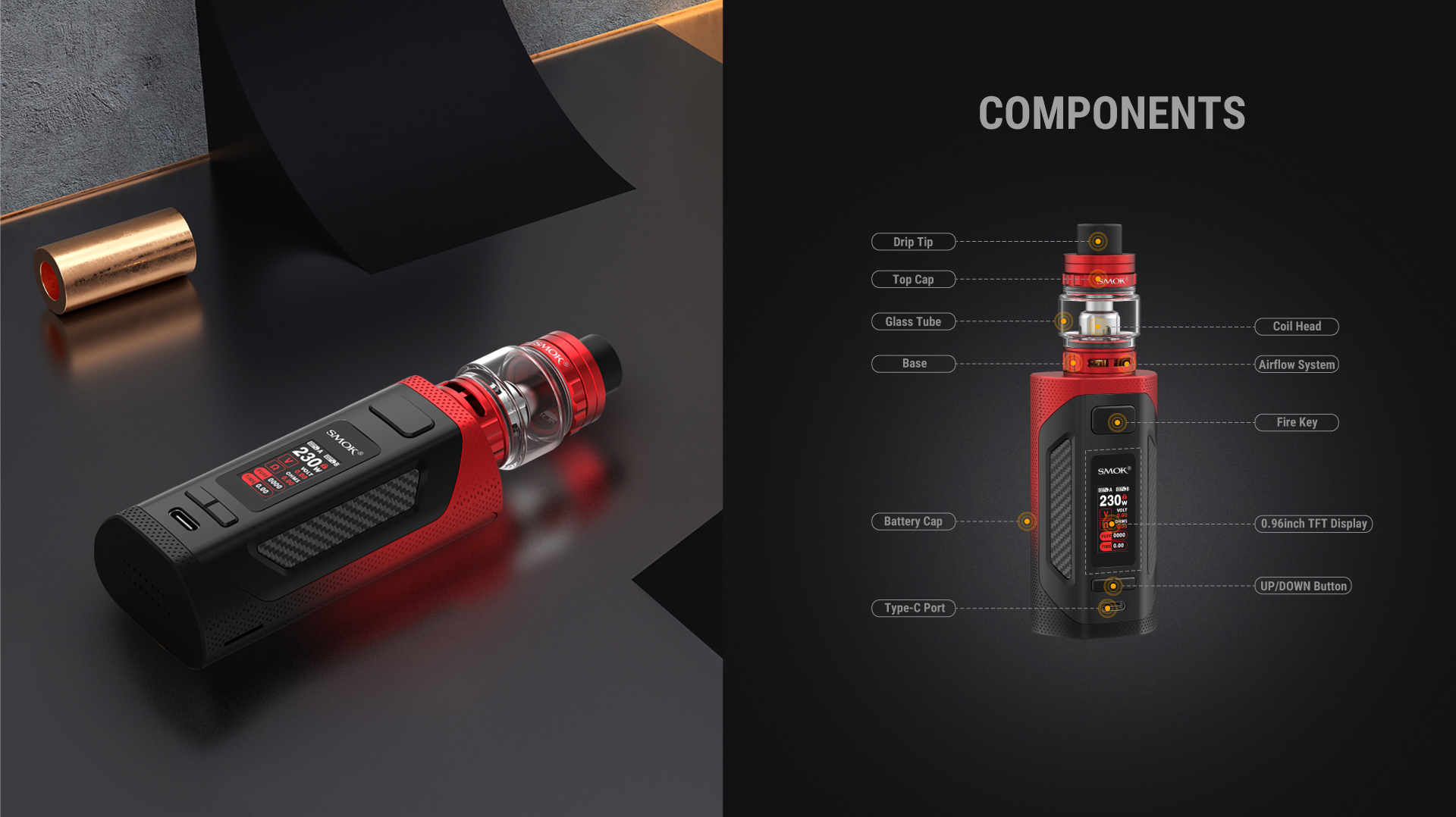 Components Rigel Kit