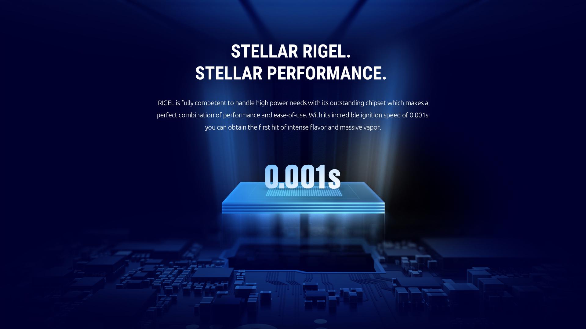 Smok Rigel Vape Kit - Chipset Technology