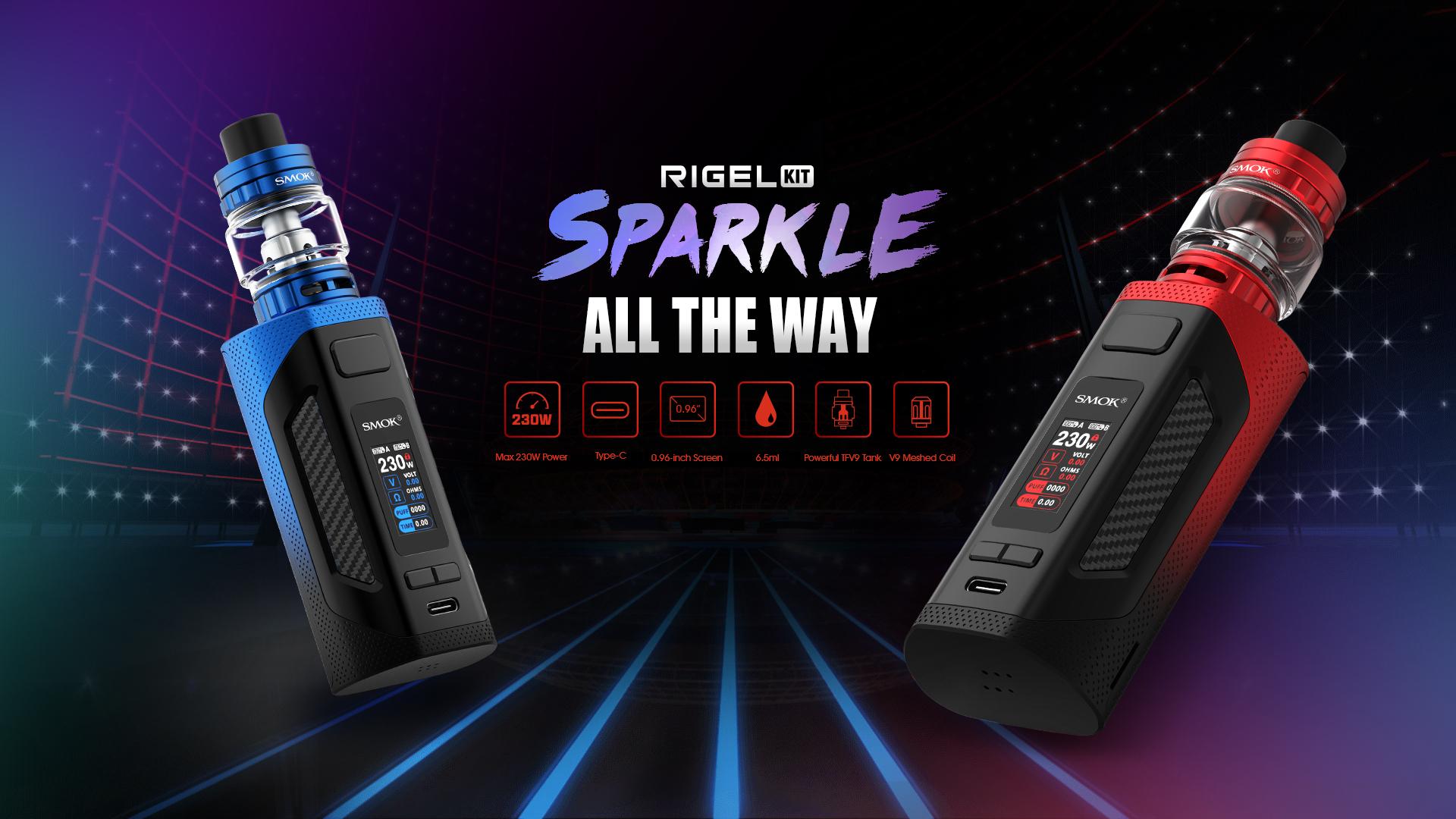 Smok Rigel Vape Kit - Colour Options