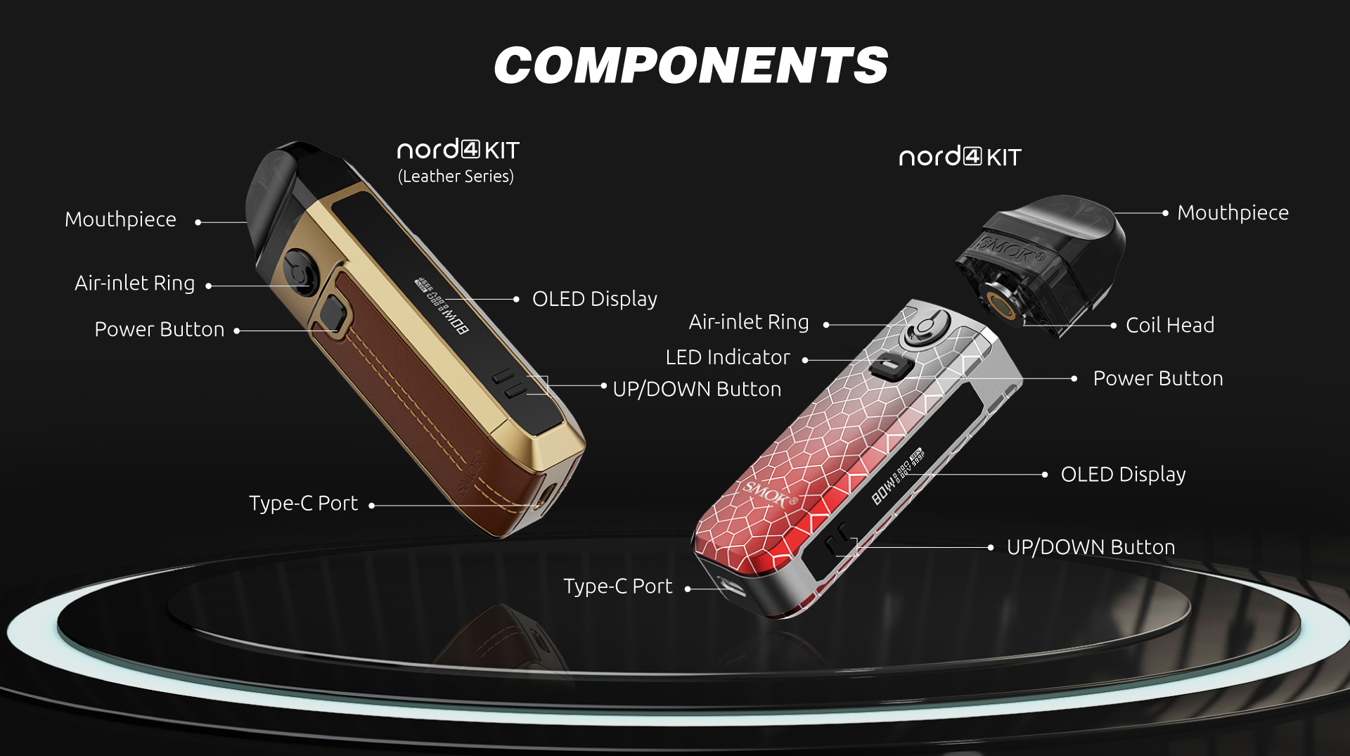 Nord 4 Leather Edition | Smok | 80W